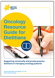 Oncology Resource Guide for Dietitians - thumbnail