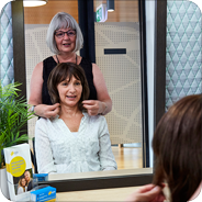 Cancer Council Victoria's free wig service