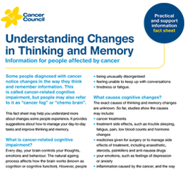 Conversation about changes in thinking and memory