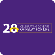 Join us for the 20th anniversary of Relay For Life