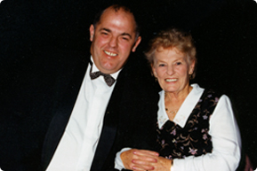 Garry Robilliard's mum Evelyn