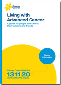 Living with Advanced Cancer booklet