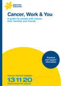 Cancer, Work & You Booklet
