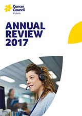 Cancer Council Victoria 2017 Annual Review