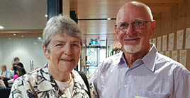 Cancer Council volunteers John and Elaine