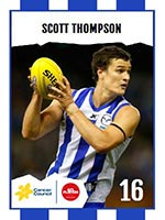 Scott Thompson's footy card