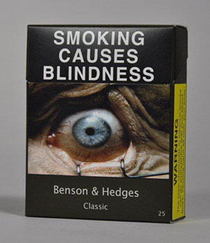 Blindness packaging example