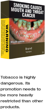 The benefits of Plain Packaging
