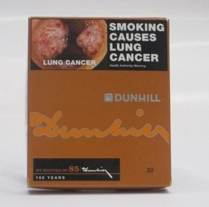 Dunhill Collector cigarette packaging