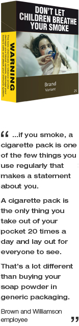 Plain packaging news