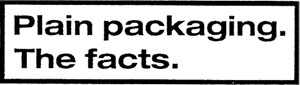plain packaging the facts