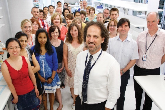 Professor Ross McKinnon and his team at the Flinders Centre for Innovation and Cancer.