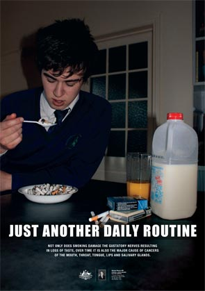 Just another daily routine