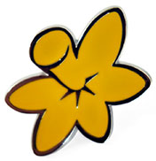 Daffodil Day pin