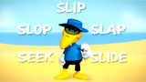 Sid the Seagull says 'Slip, slop, slap, seek and slide'